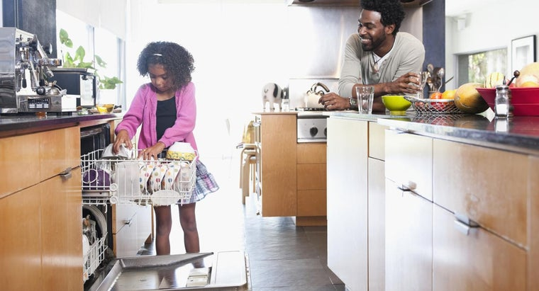 Where Can You Find a Chart That Compares Dishwashers?