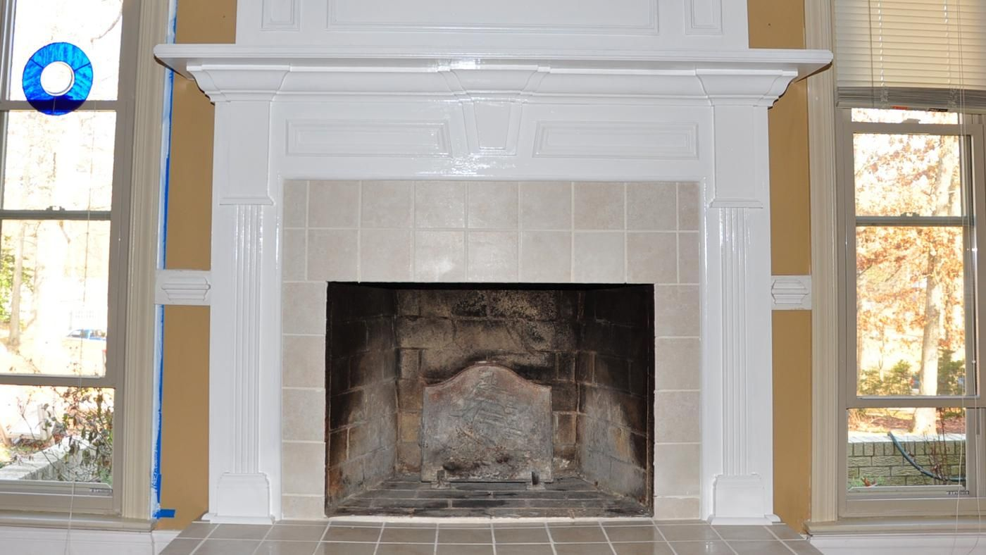 what is the standard height of a fireplace mantel. Black Bedroom Furniture Sets. Home Design Ideas