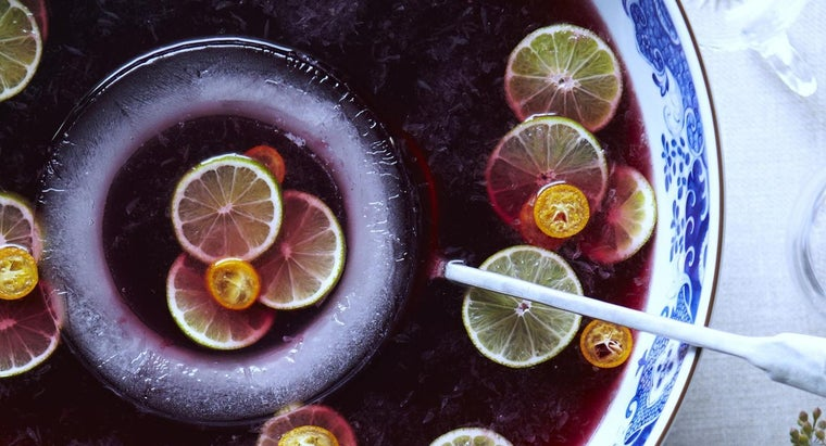 What Are Some Good Party Punch Recipes?