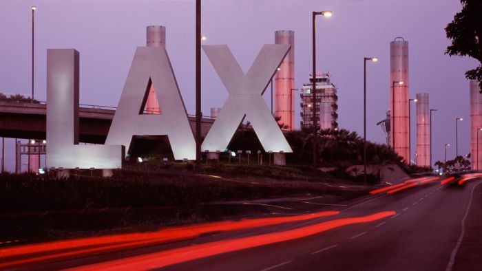Where Can You Find a Printable LAX Terminal Map?