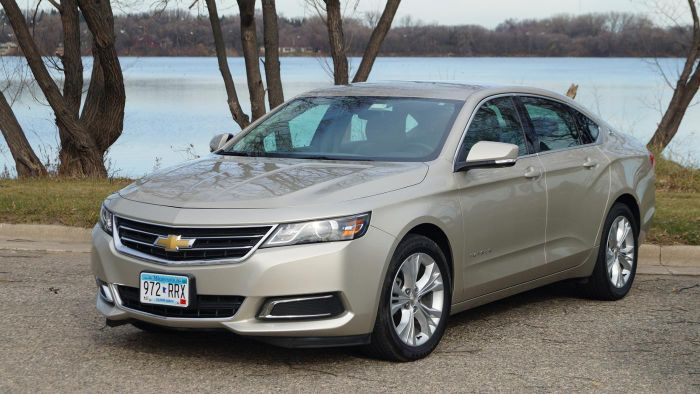 What Are the Specifications of a Chevrolet Impala?