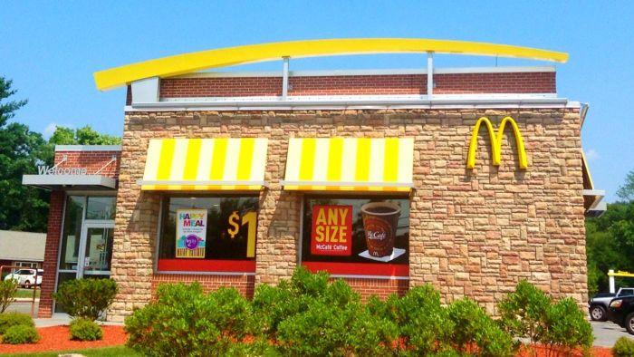 Where Can You Find a McDonald's Menu That Includes Calories?