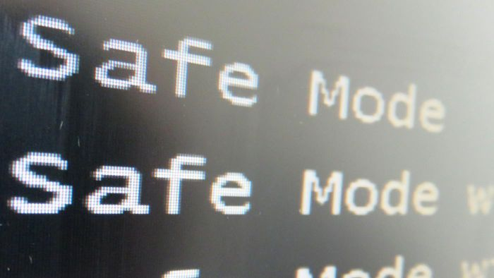 How do you disable safe mode on a computer or mobile device?