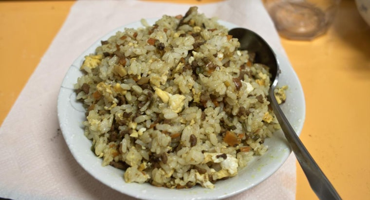 Where Can You Find Recipes Online for Egg Fried Rice?