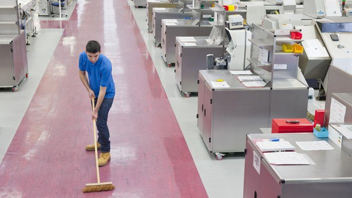 What Usually Goes on a Janitorial Application?