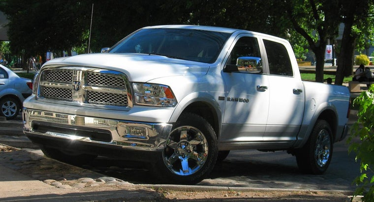 What Is the Tire Size for the RAM 1500?