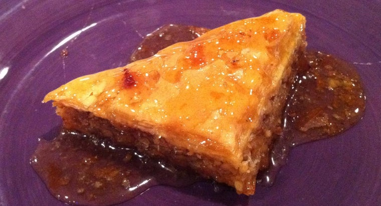 What Is a Recipe for Baklava?
