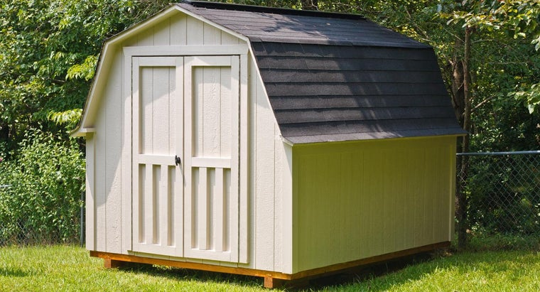 How Do You Build a Shed From a Kit?