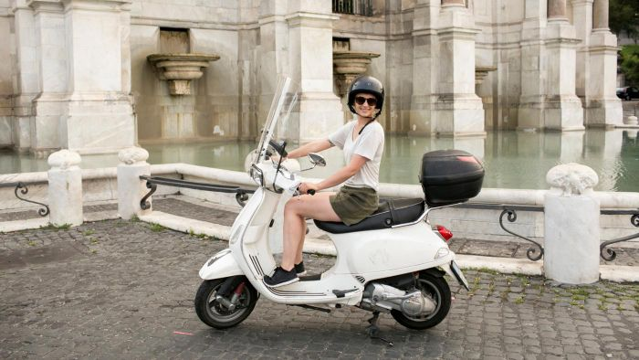 Where do you find used Vespas for sale?