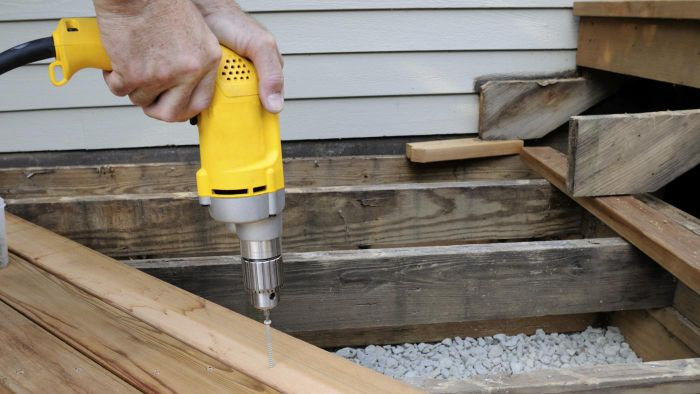 What Factors Affect the Installation of a Deck?