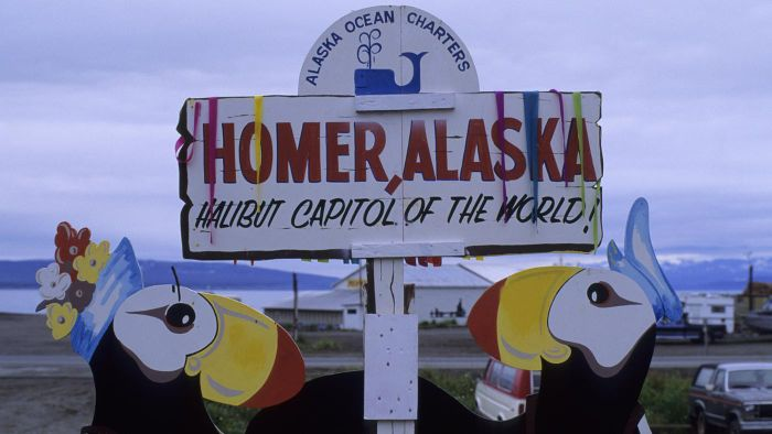 Where can you find real estate listings for Homer, Alaska?