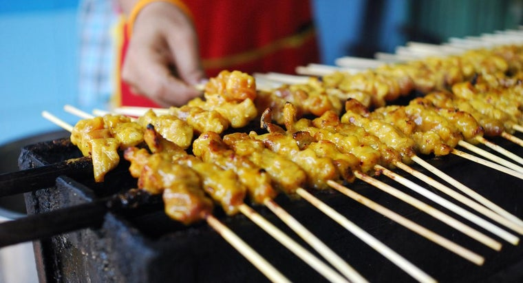 What Is an Easy Chicken Satay Recipe?