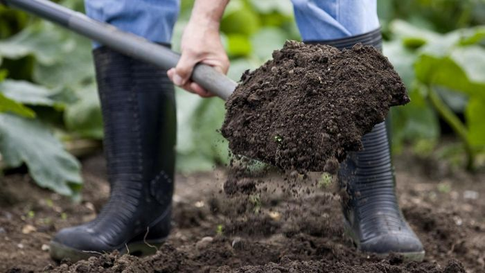 How do you calculate a cubic yard of dirt?