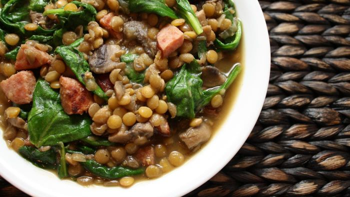 What Is an Easy Lentil Soup Recipe?