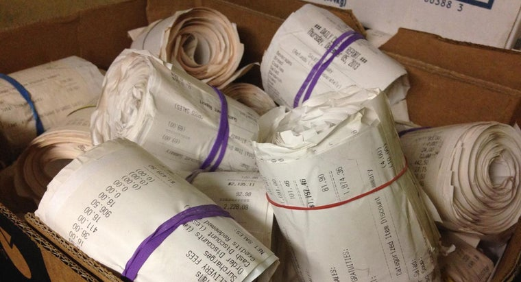 Where Can You Find a Template for Receipts?