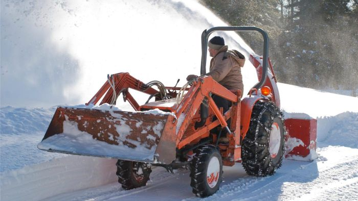 Where Can You Find Snow Plow Attachments for Your Tractor?