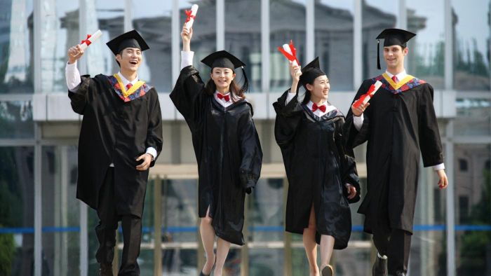 What are some slogans of graduating classes?