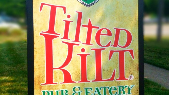 What Kind of Beer Is on the Tilted Kilt's Bar Menu?