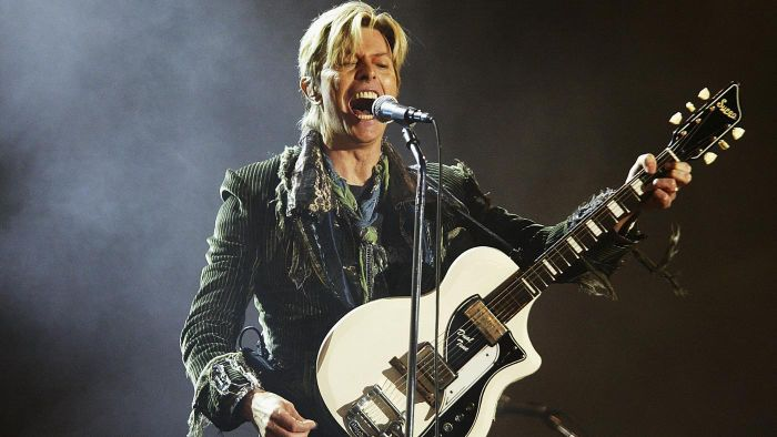 What Cities Did David Bowie Visit on His Tour in 2014?