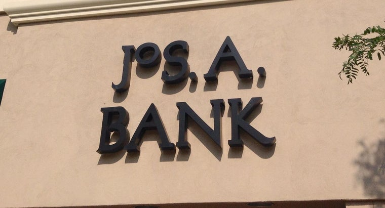 What States Have JoS. A. Banks Stores?