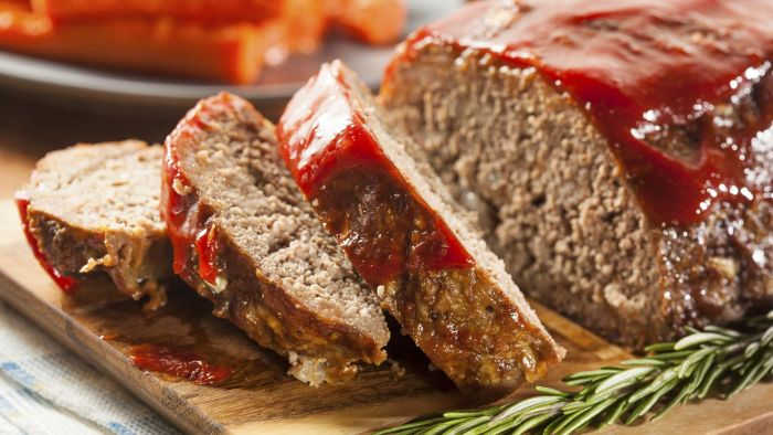 What is the cooking time for a meatloaf?