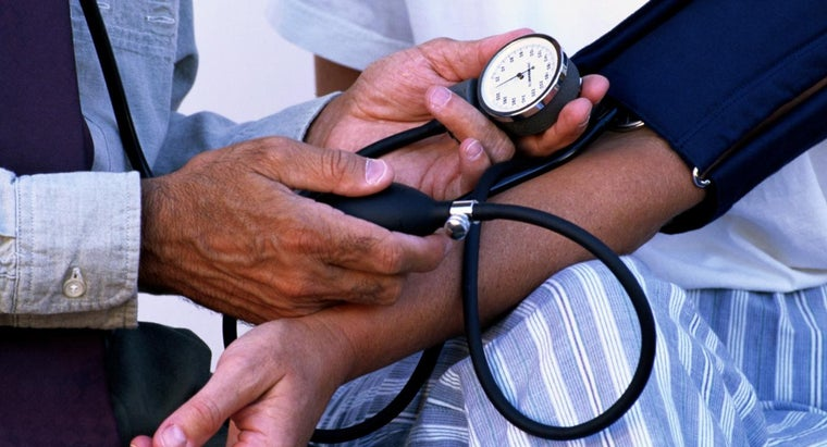 What Is the Average Blood Pressure of a Human?