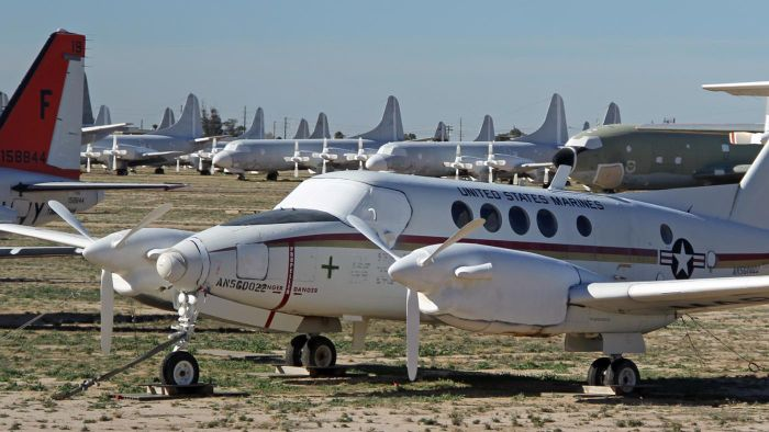 What Is the History Behind the Aircraft Graveyard in Arizona?