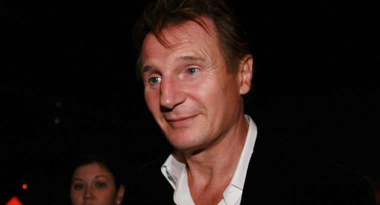 What Are Some Liam Neeson Movies?