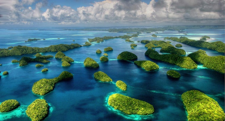 How Can You Access a Map of Palau Island?