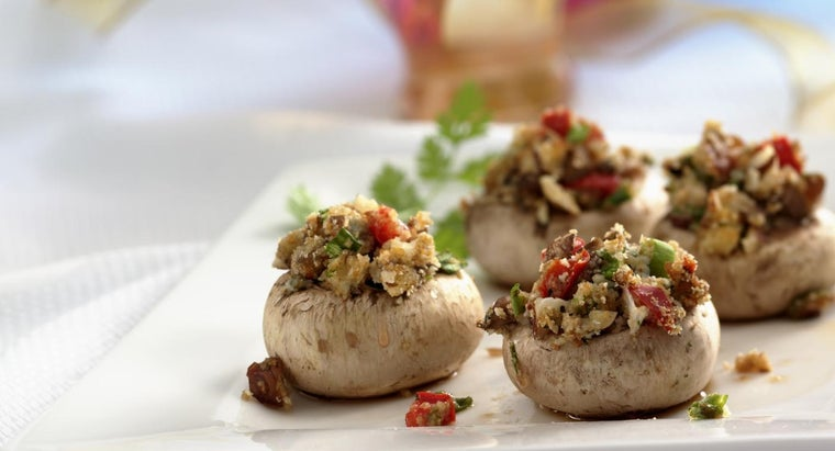 What Is a Good Recipe for Stuffed Mushrooms With Crabmeat?