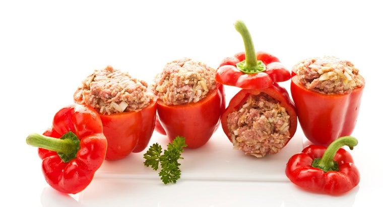 What Are Some Good Recipes for Stuffed Mini Bell Peppers?