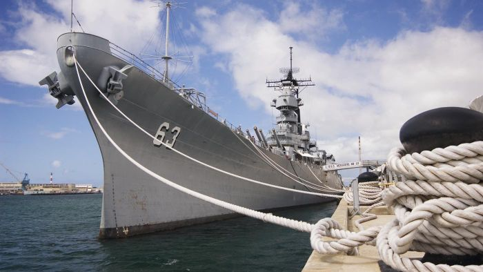 What are some interesting facts about World War II ships?