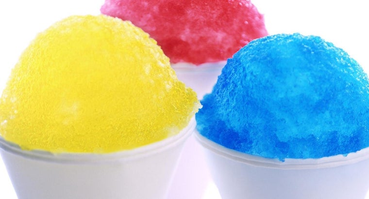 How Does a Snow Cone Ice Machine Work?