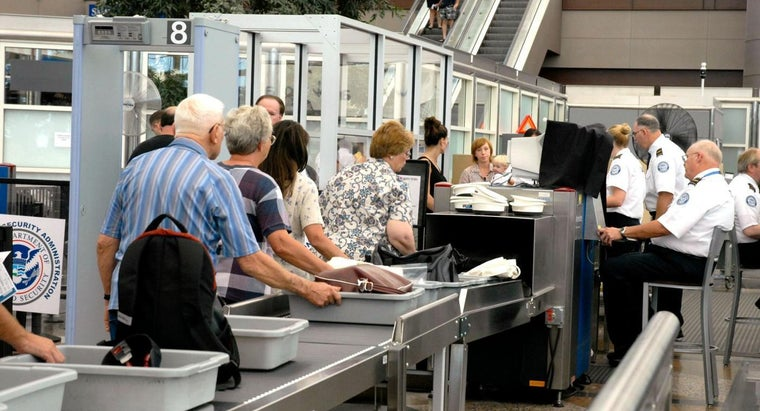 What Items Does the TSA Prohibit From Airline Travel?