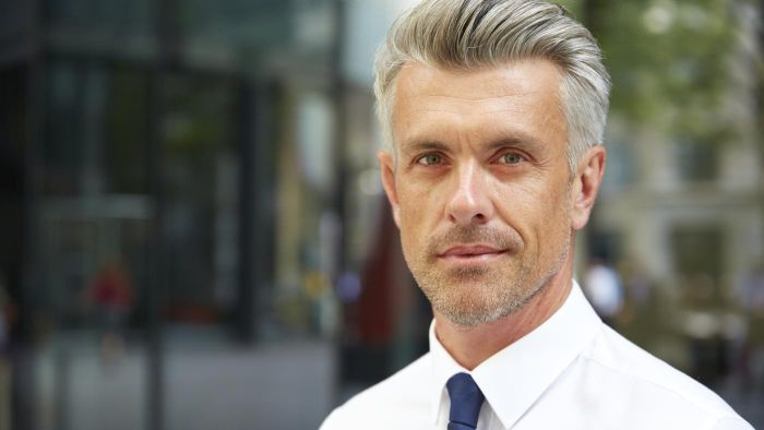 What Are Some Good Hairstyles for Men Over 40?