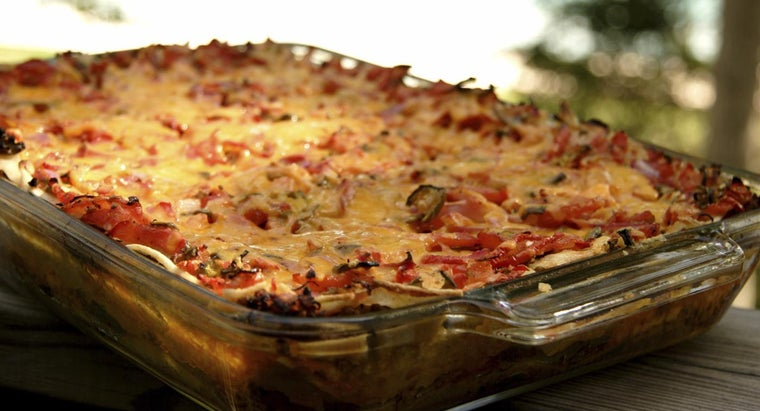 What Ingredients Are in Most Enchilada Casseroles?
