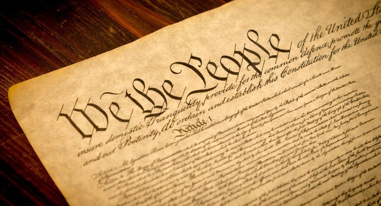 Who Publishes the Original Text of the U.S. Constitution?