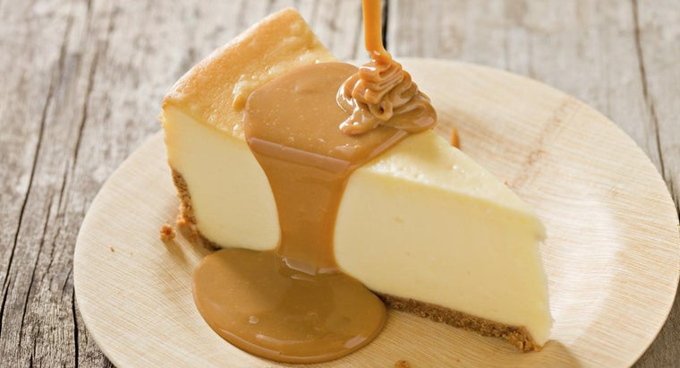 What Is an Easy Recipe for Caramel Cheesecake?