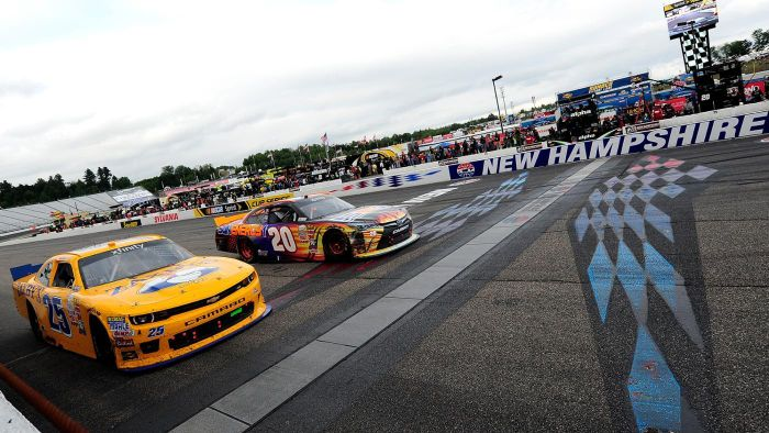 What seats are available at the New Hampshire Motor Speedway?