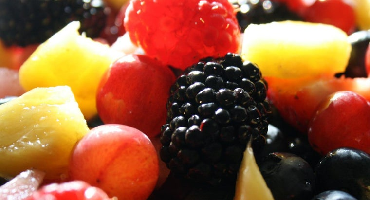 What Are the Top Ten Healthiest Fruits?