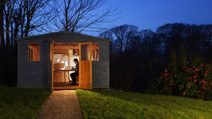 Are there blueprints for garden sheds?