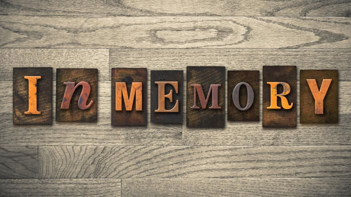 Where can you find samples of eulogies?