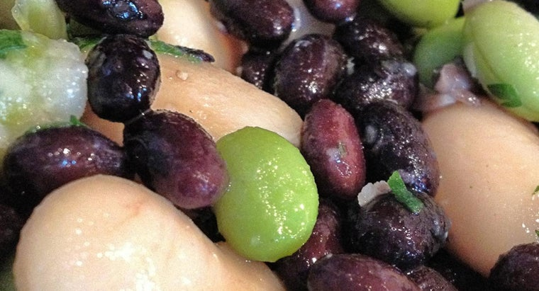 What Is a Simple Three Bean Salad Recipe?