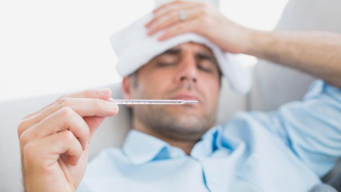 At what temperature is a fever considered dangerously high?