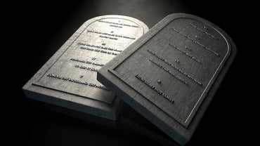 What Are the Bible's Ten Commandments?