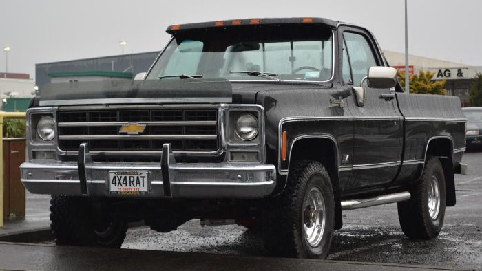 Where Are 1979 Chevy Trucks Sold?