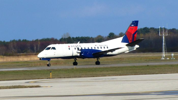 Where can you find Delta Airline arrival times?