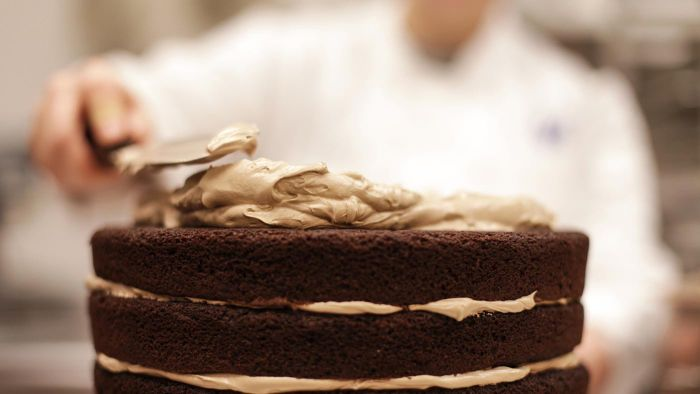Is it easy to make chocolate cake frosting?
