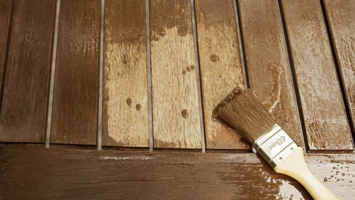 How do you remove wood stain from wood?