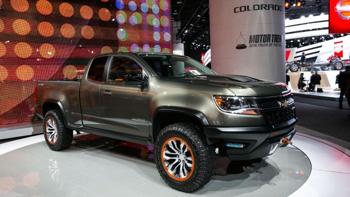 What Is the Average Price of a Chevy Colorado Truck?